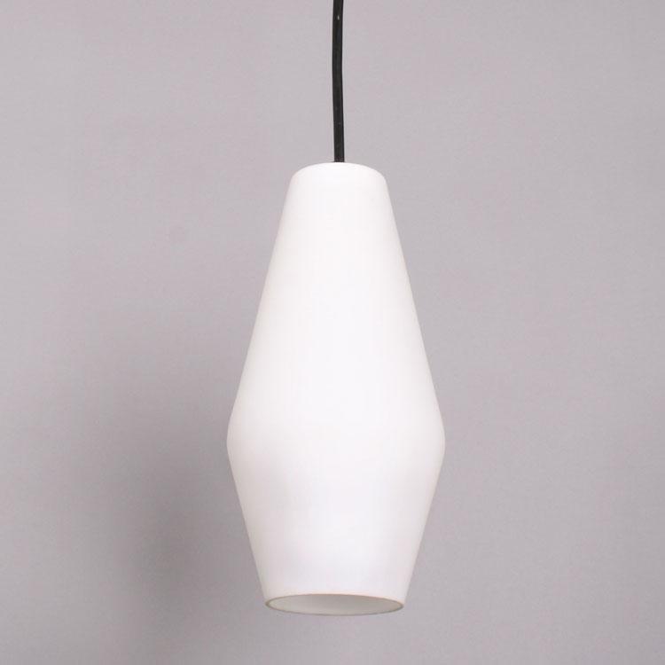 Matte white pendant