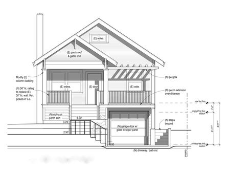 tips home design standard height of two story house